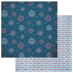 Photoplay Main Street Parade 12 x 12 Double Sided Cardstock Fireworks