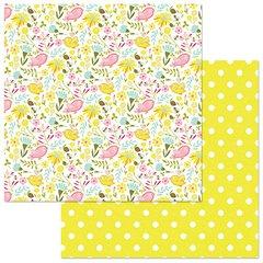 PhotoPlay Bloom Birds & Bees 12 x 12 Card Stock