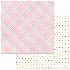 PhotoPlay Bloom Puddle 12 x 12 Card Stock