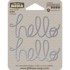 Jillibean Soup Wire Words - Hello