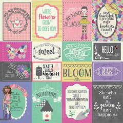 Julie Nutting Seeds of Kindness Collection - 12 x 12 Double Sided Paper - Be Kind
