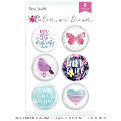 Cocoa Vanilla Studio Bohemian Dream Flair Buttons