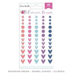 Cocoa Vanilla Studio Bohemian Dream Enamel Shapes