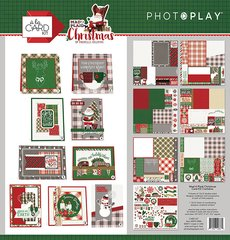 PHOTOPLAY MAD 4 PLAID CHRISTMAS CARD KIT