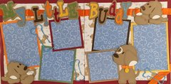 Little Buddy Layout Kit by Scrapbooking with Mrs.C