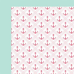 Fancy Pants Summer Sun 12 x 12 Double Sided Cardstock Anchored