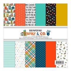 Fancy Pants Designs - Family and Co. 6 x 6 Paper Pad