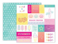 Pink Paislee Summer Lights 12 x 12 Double Sided Paper 12