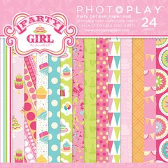 Photoplay Party Girl 6 x 6 Paper Pad  Birthday