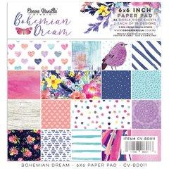 Cocoa Vanilla Studio Bohemian Dream 6 x 6 Paper Pad