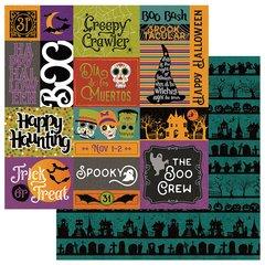 Photoplay Matilda & Godfrey Halloween Trick or Treat 12 x 12 double sided cardstock