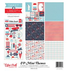 Echo Park Sweet Liberty 12 x 12 Mini Collection Kit