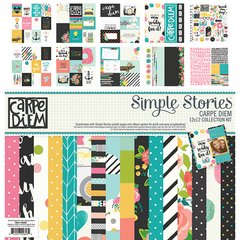 Simple Stories Carpe Diem 12 x 12 Collection Kit