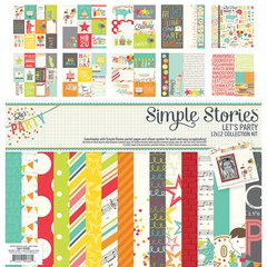 Simple Stories Let's Party 12 x 12 Collection Kit