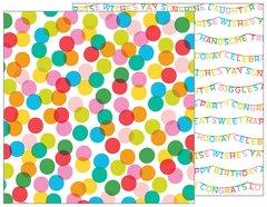 PEBBLES HAPPY HOORAY 12 X 12 CARDSTOCK Celebrate 732615