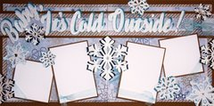 Baby It's Cold outside Layout Kit by Scrapbooking With Mrs.C