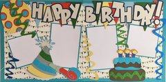 Happy Birthday Boy LAYOUT KIT BY SCRAPBOOKING WITH MRS. C