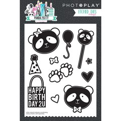 PHOTOPLAY CAKE PANDA PARTY Dies