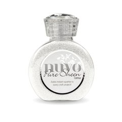 Nuvo Pure Sheen Glitter 721N Ice White
