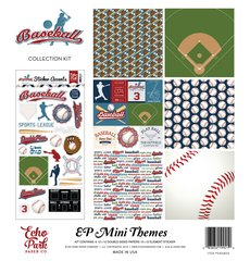 Echo Park 12 x 12 Baseball Collection Mini Kit