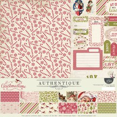 Authentique Christmastime 12 x 12 Collection Kit Christmas