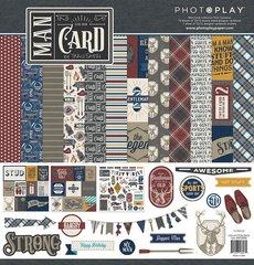 PhotoPlay Man Card 12 x 12 Collection Kit