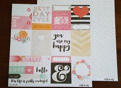 Cocoa Vanilla Hello Lovely Lucky Dip 12 x 12 Paper