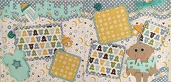 All About BABY BOY Layout Kit by Scrapbooking with Mrs.C