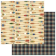 Photo Play Paper  Lakeside Collection 12 x 12 Double Sided Paper - Paddle On