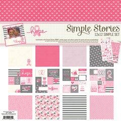 Simple Stories HOPE 12 x 12 Simple Set
