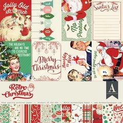 Authentique Retro Christmas 12 x 12 Collection Kit