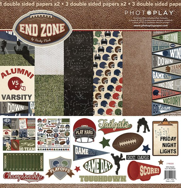 PhotoPlay End Zone 12 x 12 Collection Kit