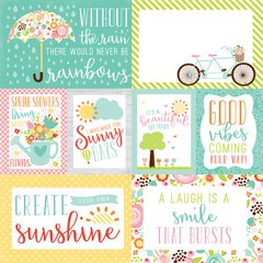 Spring Journaling Cards Double sided 12 x 12 Card stock