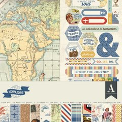 Authentique Explore 12 x 12 Collection Kit