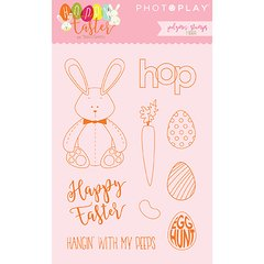 PhotoPlay Hoppy Easter Polymer Stamps