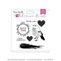 Cocoa Vanilla Studio Bohemian Dream Clear Stamps