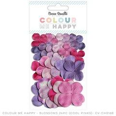 Cocoa Vanilla Colour Me Happy Cool Pink Blossoms