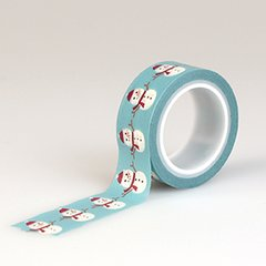 The Story of Christmas Snowman Decorative Washi Tape