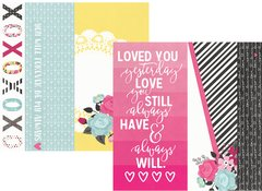 Simple Stories Love & Adore 12 x 12 Cardstock 2x12, 4x12 & 6x12 Elements