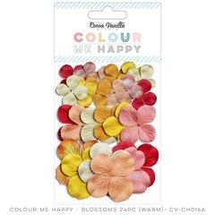Cocoa Vanilla Colour Me Happy Warm Blossoms