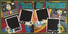 TAKE MY PICTURE LAYOUT KIT BY SCRAPBOOKING WITH MRS. C