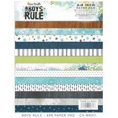 PRE ORDER Cocoa Vanilla Studio Boys Rule 6 x 8 Paper Pad