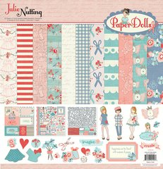 Photoplay Julie Nutting Paper Dolls 12 x 12 Collection Kit