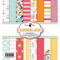 Summer Sun 6 x 6 paper pad