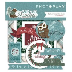 PhotoPlay Winter Meadow Ephemera Pack