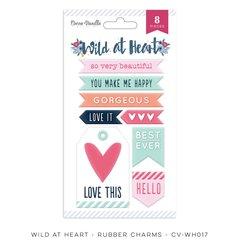 Cocoa Vanilla Studio Wild at Heart Rubber Charms