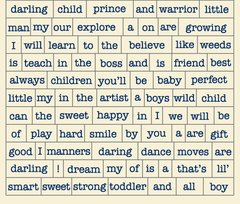Authentique Darling Boy Diction Stickers