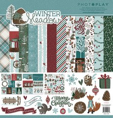 PhotoPlay Winter Meadow !2 x 12 Collection Kit