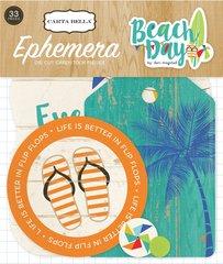 Carta Bella Beach Day Ephemera Pack