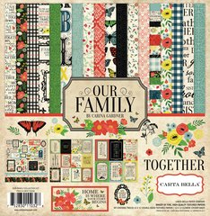 Carta Bella Our Family 12 x 12 Collection Kit